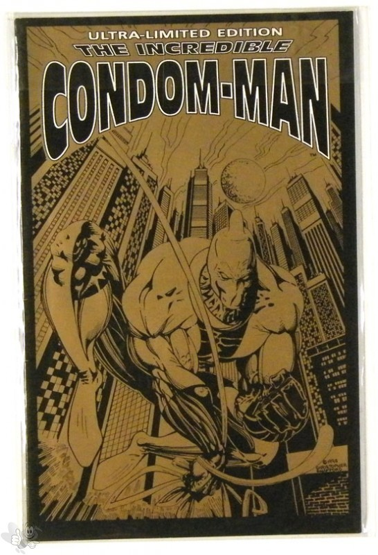 Incredible Condom Man Ultra Limited Edition Comic
