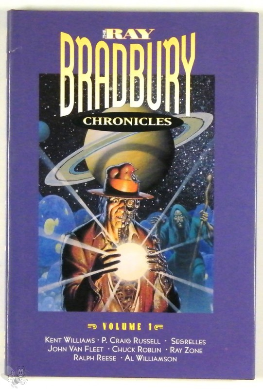 Ray Bradbury Chronicles Vol 1 Signed and nummerd Hardcover