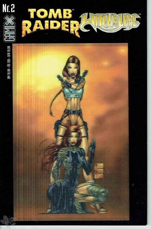 Gamix 2: Tomb Raider / Witchblade (Buchhandels-Ausgabe, Cover-Version B)