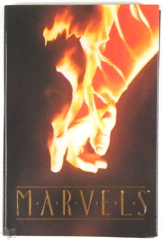 Marvels Delux Hardcover Edition Signed Alex Ross