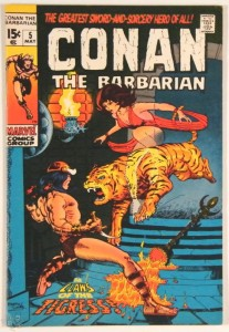 Conan the Barbarian Nr. 5 US Marvel 1971