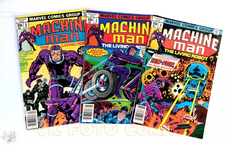 Machine Man Nr. 1 - 9, Marvel US Comic, 1978