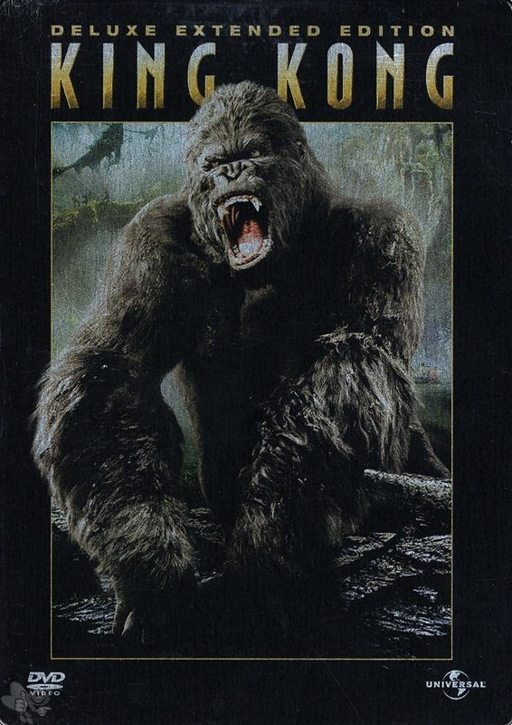 King Kong (Deluxe Extended Edition, Steelbook, 3 DVDs)