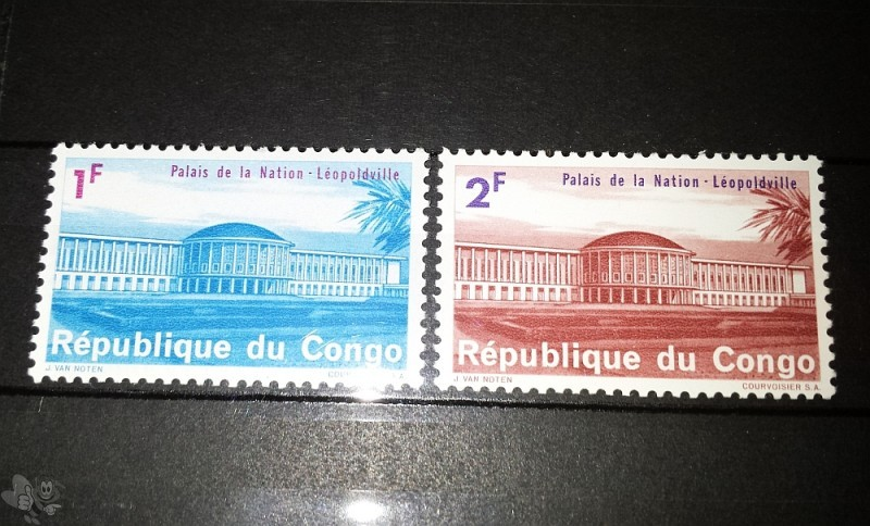 CONGO Republic, Palais de la Nation, Leopoldville, ungestemp