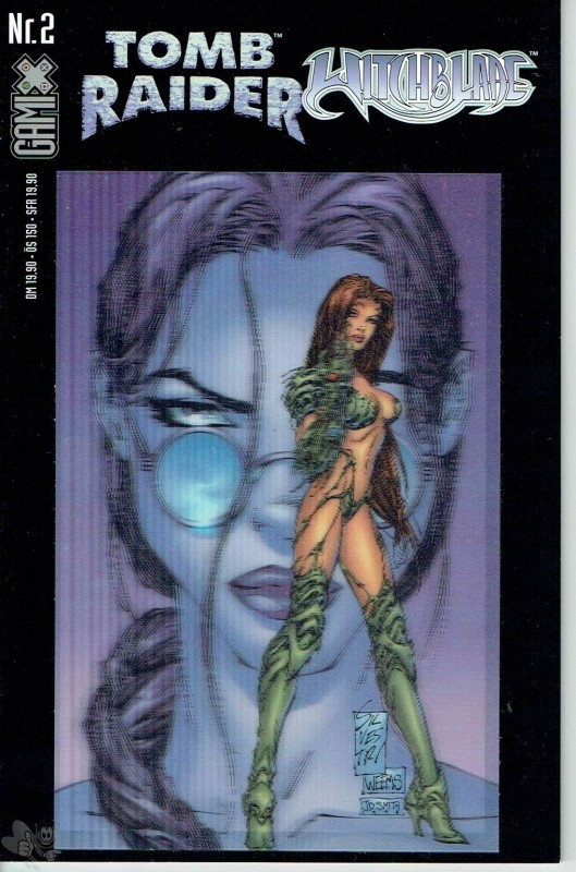 Gamix 2: Tomb Raider / Witchblade (Buchhandels-Ausgabe, Cover-Version A)