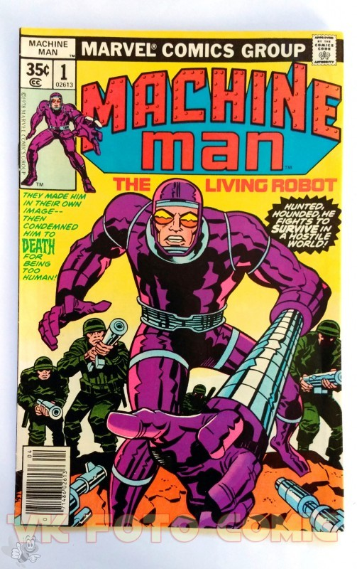 Machine Man Nr. 1, Marvel US Comic