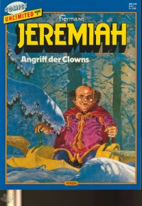Comics Unlimited 8: Jeremiah: Angriff der Clowns