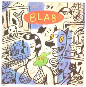 BLAB VOL 9 By Monte Beauchamp