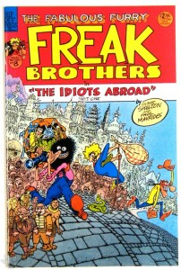 Freak Brothers Nr. 8 Signiert von Gilbert Shelton