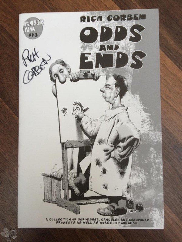 Odds and Ends Richard Corben signiert