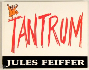 Tantrum by Jules Feiffer Softcover