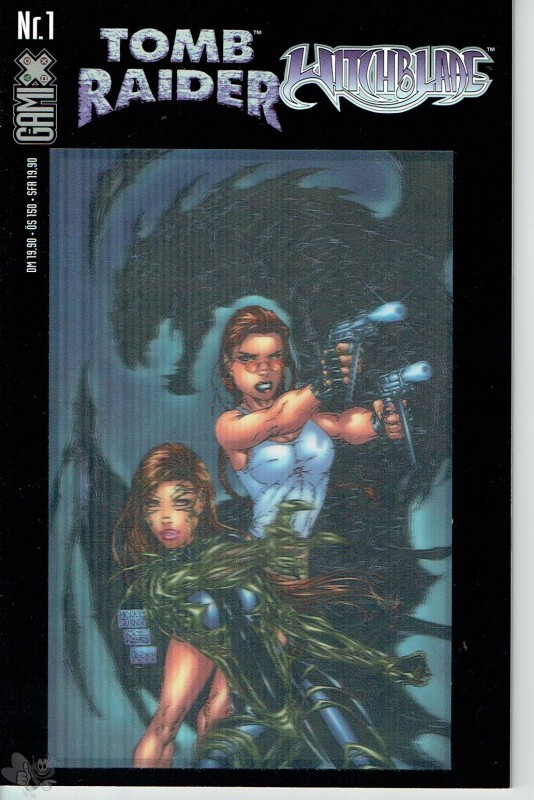 Gamix 1: Tomb Raider / Witchblade (Buchhandels-Ausgabe, Cover-Version B)