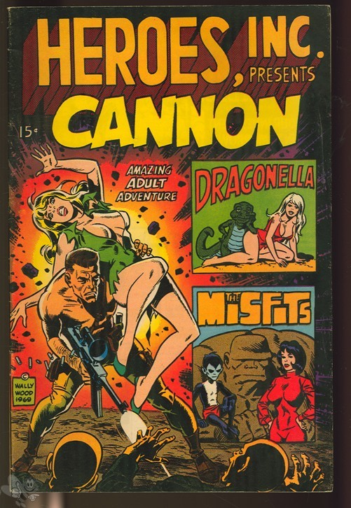 Heroes, Inc. presents Cannon 1 (W.Wood/S.Dittko)
