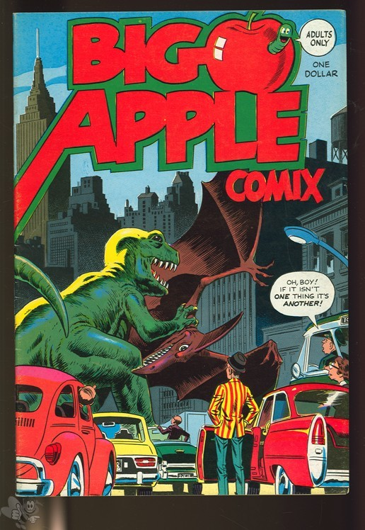 Big Apple Comix 1 (1975 W.Wood, Schwartzberg, Reese & more)