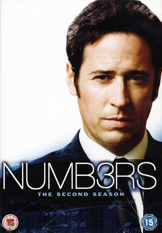 Numbers / Numb3rs - Season 2 (UK-Import mit dt. Ton,  6 DVD's)