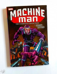 MACHINE MAN  Tradepaberback, The compl. Collection, US Ausgabe