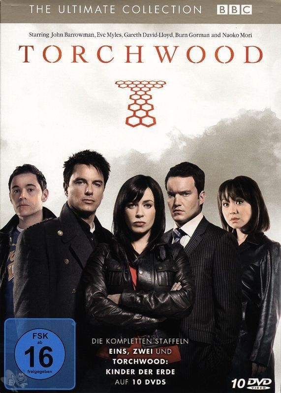 Torchwood - The Ultimate Collection (10 DVD's)