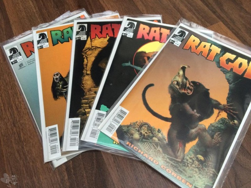 Rat God, Richard Corben komplett, Dark Horse 2015
