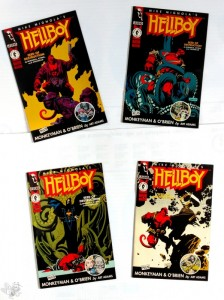 KONVOLUT Hellboy 1. Mini-Series, Dark Horse US Ausgabe 1-4: Seed of Destruction