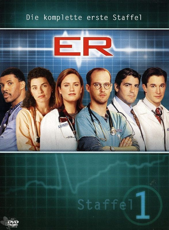 ER Emergency Room - Die komplette 1. Staffel (24 Episoden, DVD's)