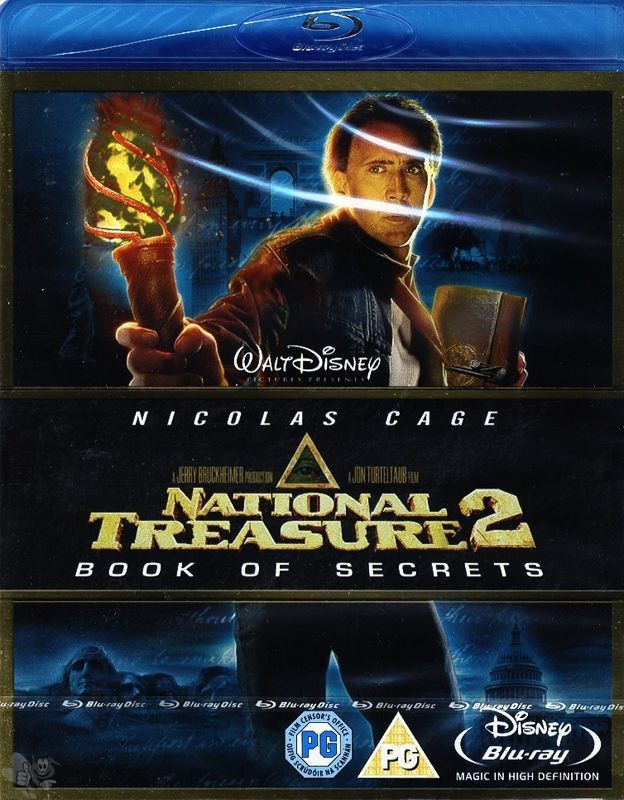 National Treasure 2 - Book of secrets (UK-Import,  Blu-ray)