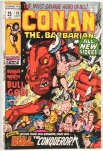 Conan the Barbarian Nr. 10 US Marvel 1971