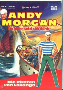 Andy Morgan 1: Die Piraten von Lokanga