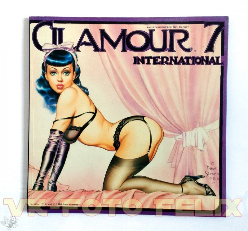 GLAMOUR INTERNATIONAL Mag No. 7 ( Dave Stevens Cover)