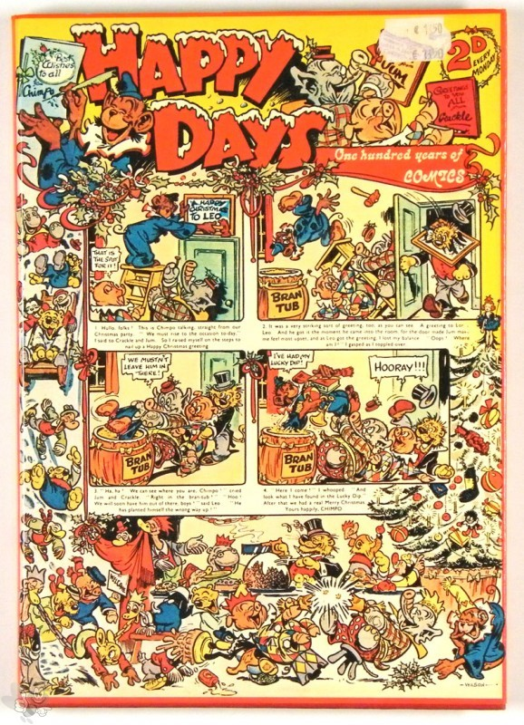 Happy Days A Century of Comics Denis Gifford 1st Ed HC