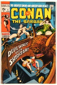 Conan the Barbarian Nr. 6 US Marvel 1971