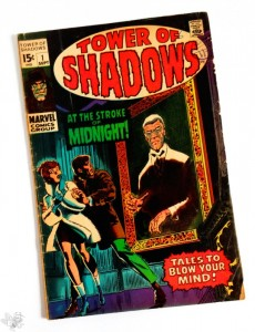 Tower of Shadows No. 1, US Marvel, 1969, Art by Steranko