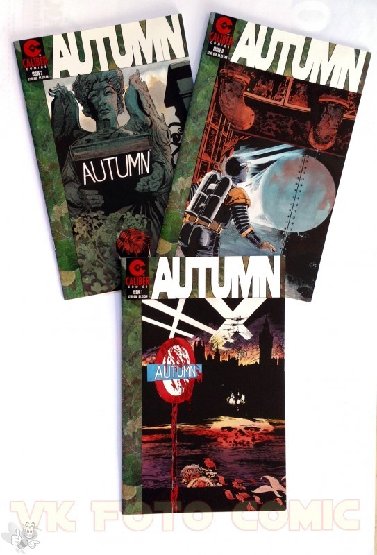 AUTUMN US Serie 1-3, Caliber Press
