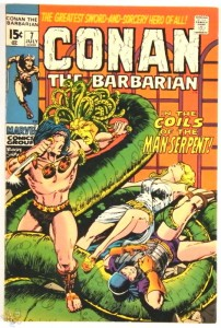 Conan the Barbarian Nr. 7 US Marvel 1971