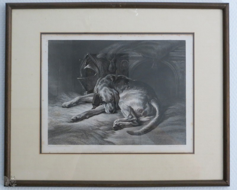 "Landseer ""Sleeping Bloodhound"""