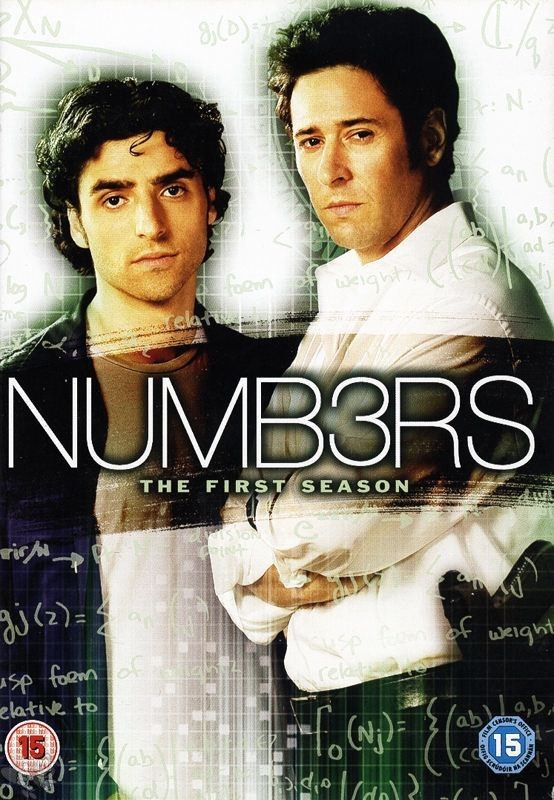 Numbers / Numb3rs - Season 1 (UK-Import mit dt. Ton,  4 DVD's)