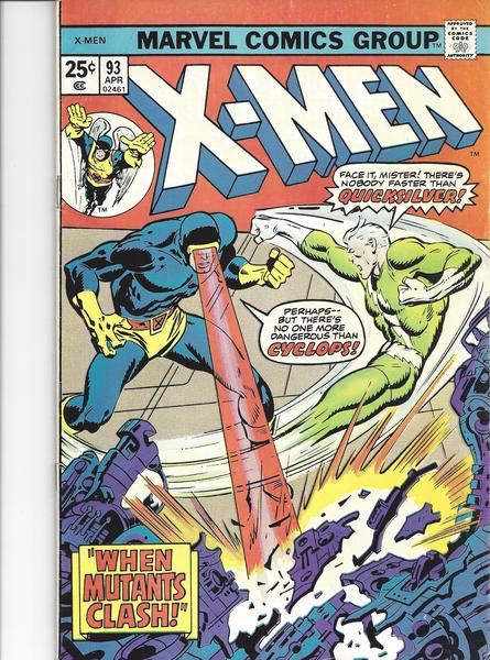 X-MEN - Uncanny X-Men #93 Vol. I - Marvel USA englisch