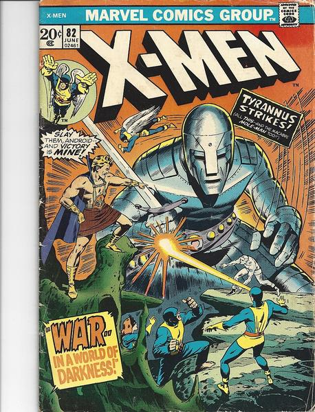 X-MEN - Uncanny X-Men #82 Vol. I - Marvel USA englisch