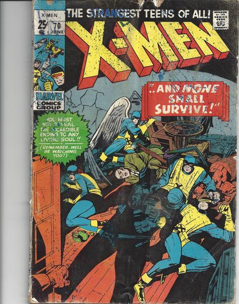 X-MEN - Uncanny X-Men #70 Vol. I - Marvel USA englisch