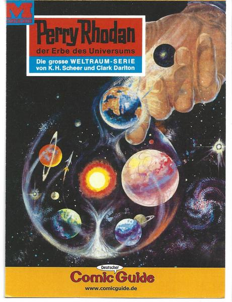 Eintrittskarte 63. Intercomic - PERRY RHODAN Cover Internationale dt. Comic Messe 2008