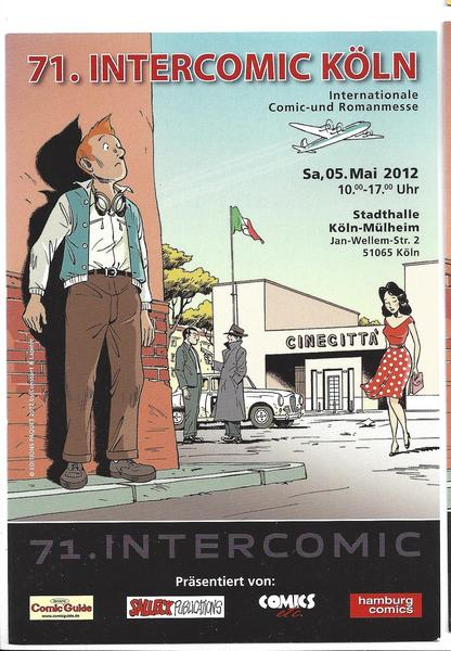 Eintrittskarte 71. Intercomic - Internationale dt. Comic Messe 2012