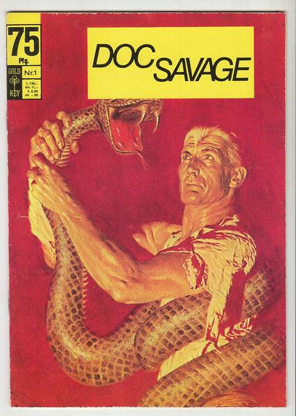 Doc Savage 1: