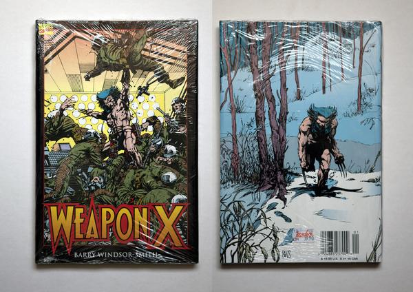 WEAPON X (Wolverine) – HC (Barry Windsor-Smith) 1993