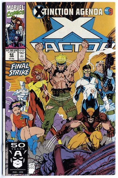 X-Factor 61 - Marvel - USA 1991