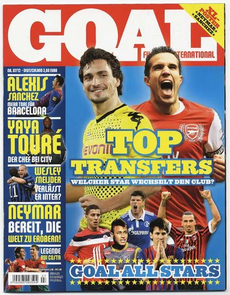 Goal 7-2012 - Top Transfers - Goal Allstars