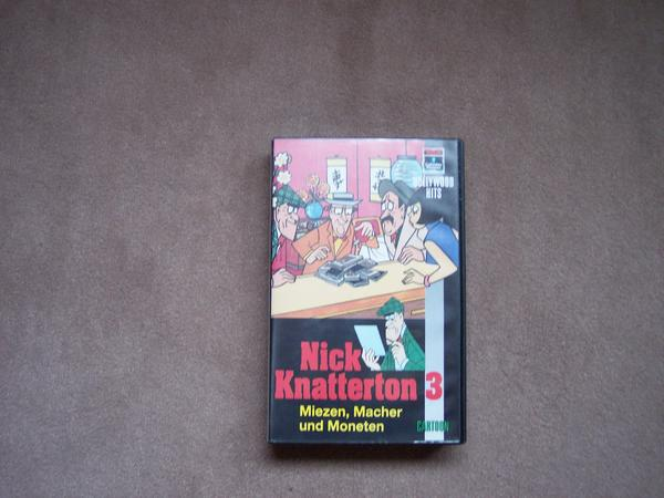 Nick Knatterton-Video 3: Miezen, Macher und Moneten