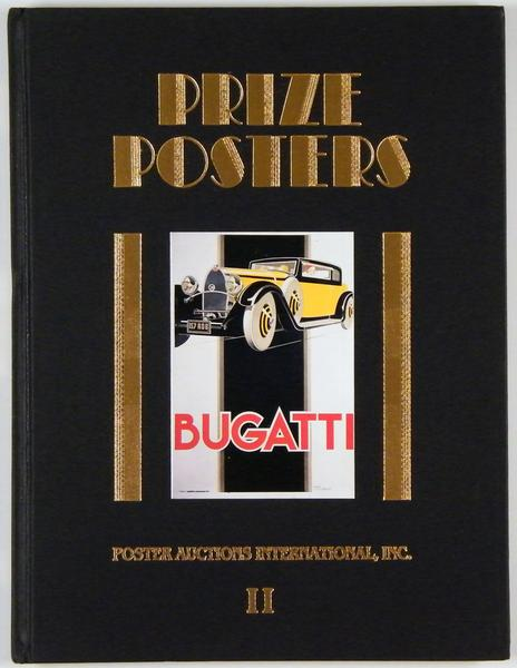 Prize Posters, Poster Auctions 2 (II), great catalog for the auction of November 10, 1985 by Jack Rennert, Hardcover, incl. result list