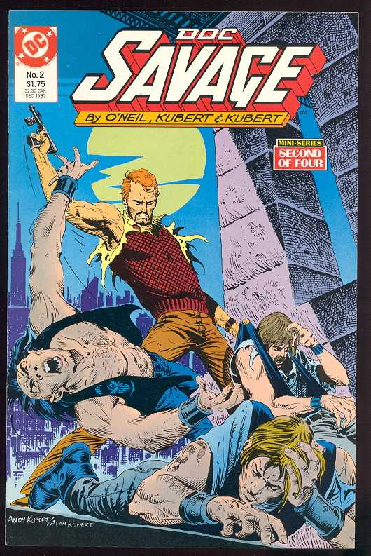 Doc Savage (Mini Series DC 1987)